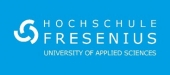 Logo Hochschule Fresenius Berlin            Master  Digital Management
